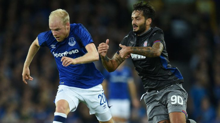 Everton enters Europa League after draw with Hajduk Split