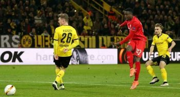 Liverpool takes away goal advantage at Dortmund