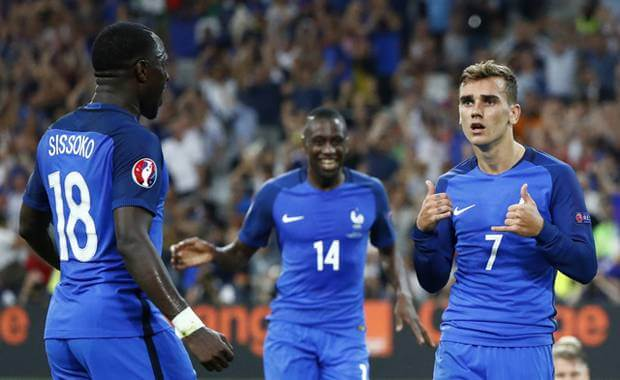Euro 2016: Griezmann brace sends Germany packing