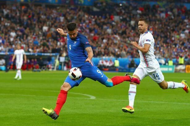 France crushes Iceland to meet Germany in Euro semi-final
