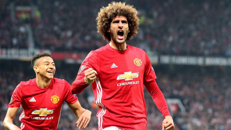 Returning Fellaini edges United into Europa League final
