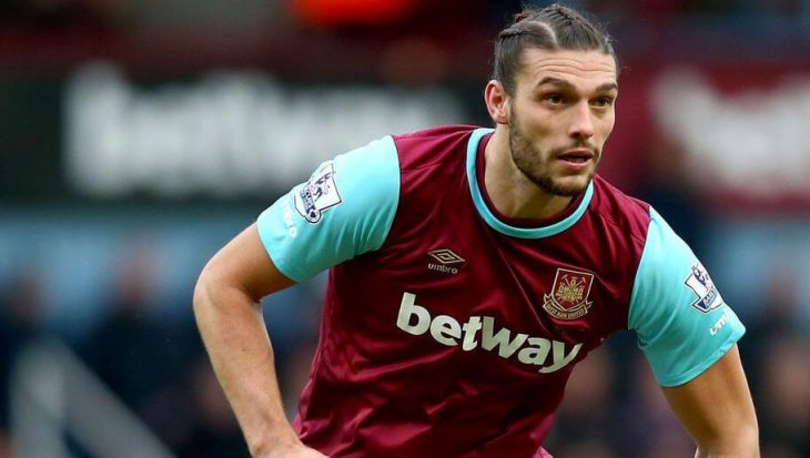 Andy Carroll out for up to six weeks with knee injury
