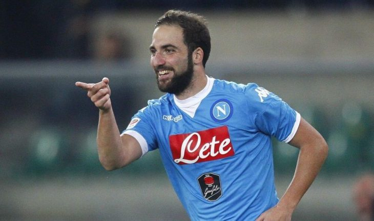 Gonzalo Higuain secures record £75.3m move to Juventus
