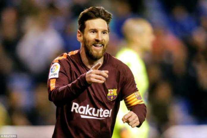 Messi hat-trick seals La Liga title for Barca