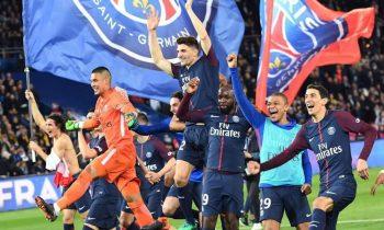Paris Saint-Germain wins Ligue 1 title after stylish rout over Monaco