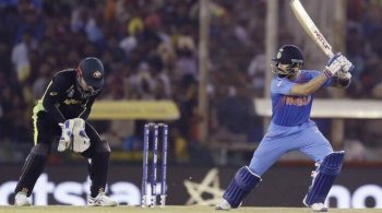 India edges Australia by six wickets