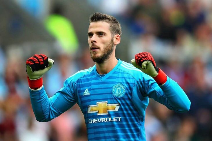 David De Gea: Man United keeper says he feels loved at club