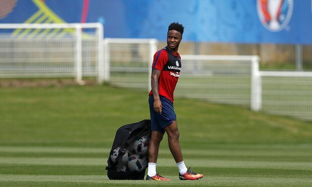 Raheem Sterling gets Pep talk boost ahead of Iceland start