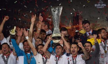 Sparkling Sevilla wins third successive Europa League trophy