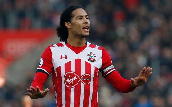 Southampton melaporkan Liverpool atas pendekatan van Dijk