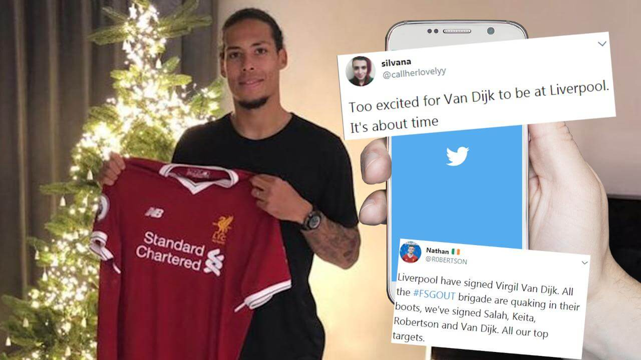 Liverpool set to sign Virgil van Dijk for world-record £75m fee