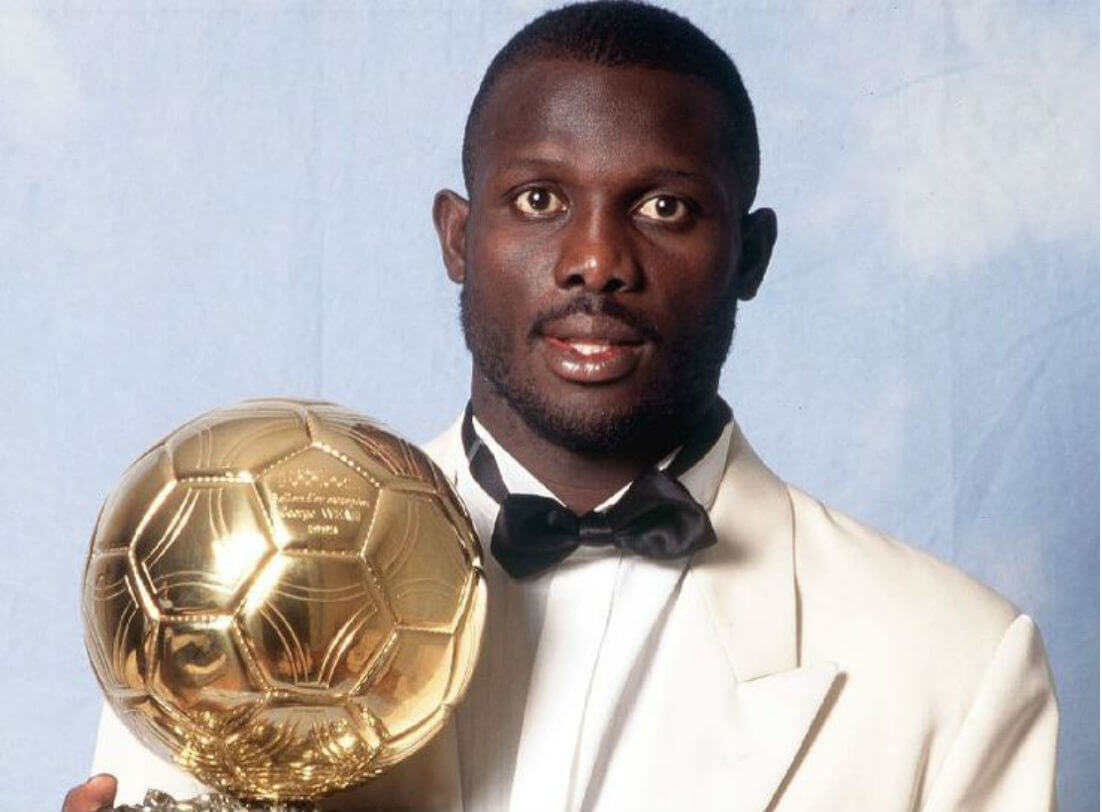 Former Ballon D'Or winner George Weah elected Liberian president