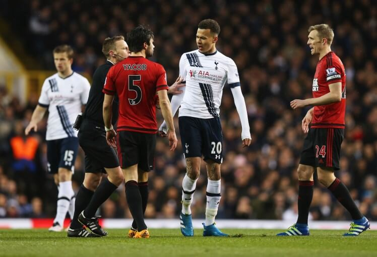 Dele Alli charged with violent conduct in frustrating draw