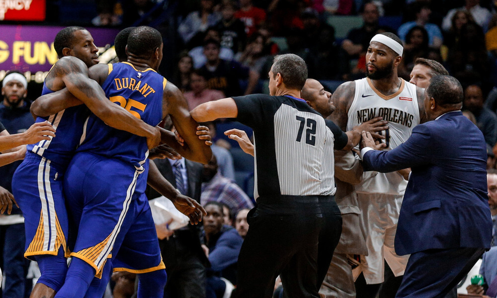 DeMarcus Cousins ejected against Warriors for confrontation