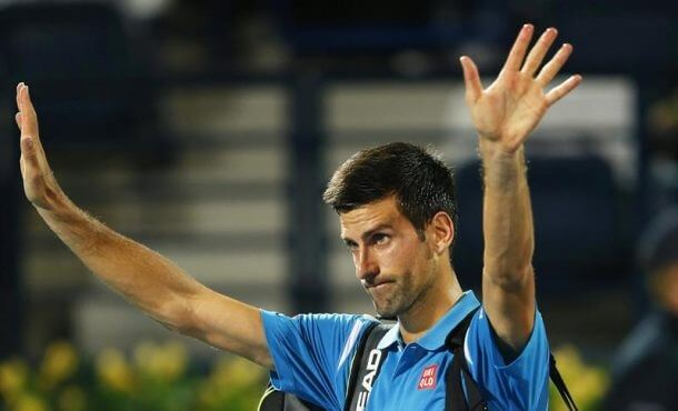 Djokovic retires in Dubai, ends 17 finals streak