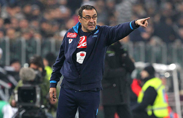 Maurizio Sarri wary even as Napoli continues to lead Serie A table