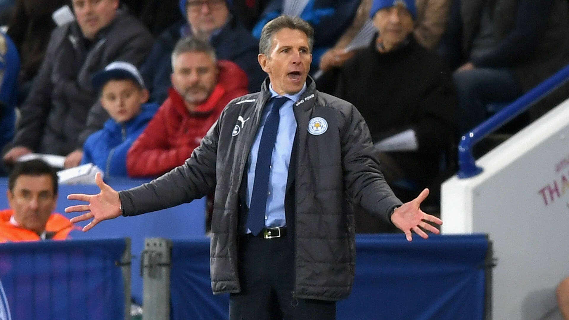 Leicester City wins first match with Claude Puel in charge