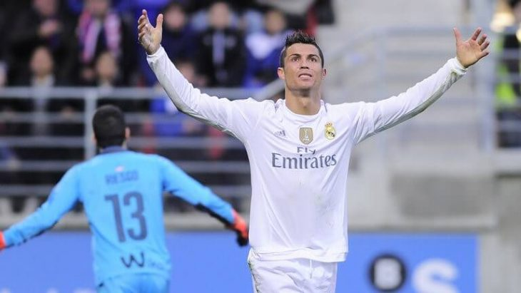 Ronaldo is La Liga's third all-time leading goalscorer