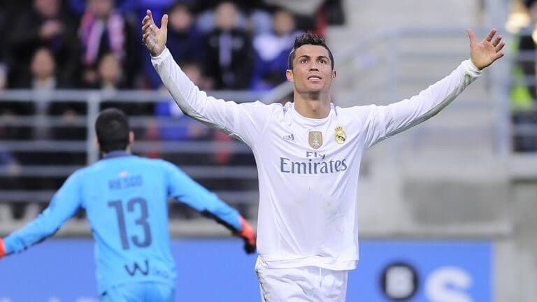 Ronaldo is La Liga's third all-time leading goalscorer