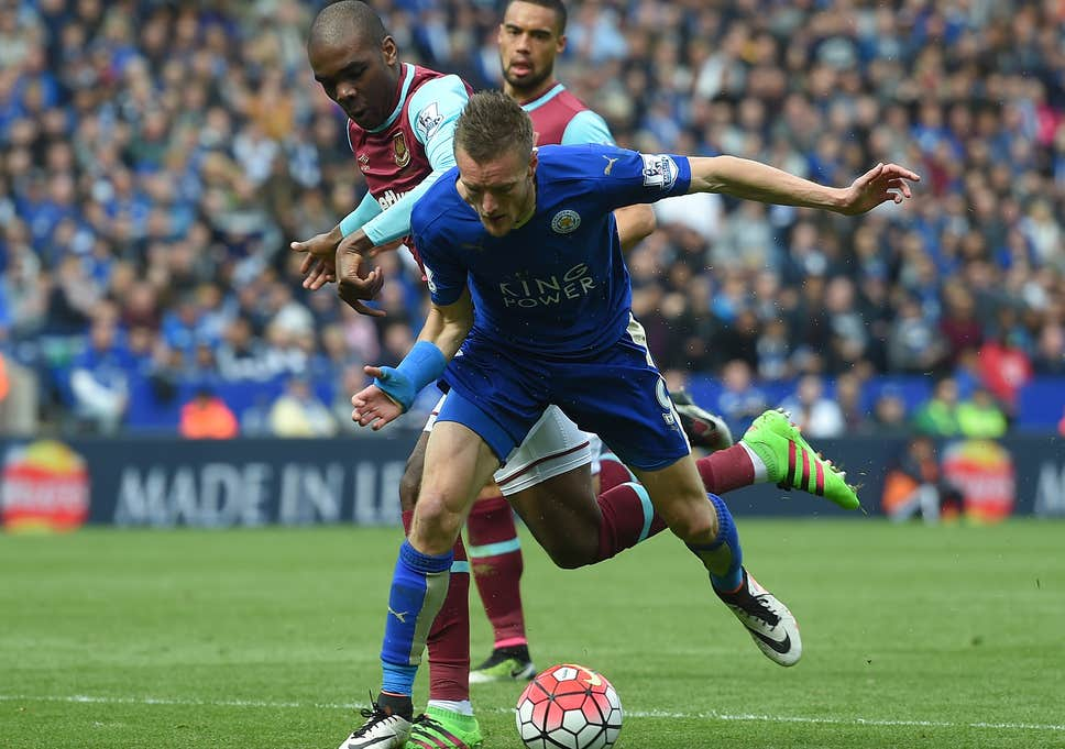 Leicester draws as Vardy sees red; Aston Villa relegated I