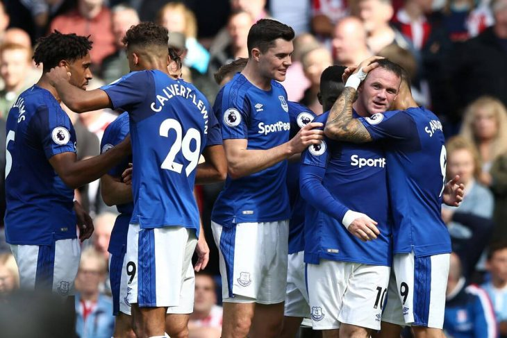 Everton takes slim lead in Europa League qualifier