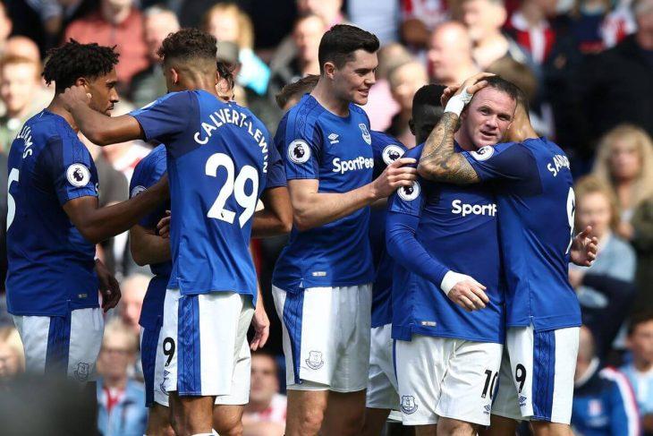 Everton takes slim lead in Europa League qualifier