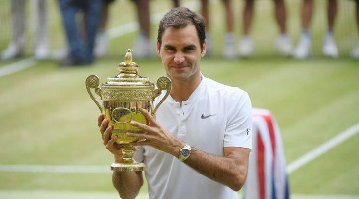 Roger Federer mengalahkan Marin Cilic untuk mengklaim rekor delapan gelar Wimbledon