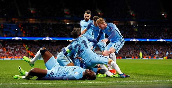 Champions League: Man City beat Monaco in a tie-up with 8 goals