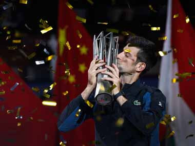 Djokovic Wins at Shanghai Masters, Extends Winning Streak