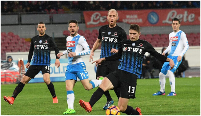 Napoli title challenge over with Atalanta defeat