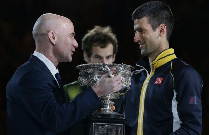 Djokovic untuk menerima bimbingan dari Andre Agassi di Prancis Terbuka