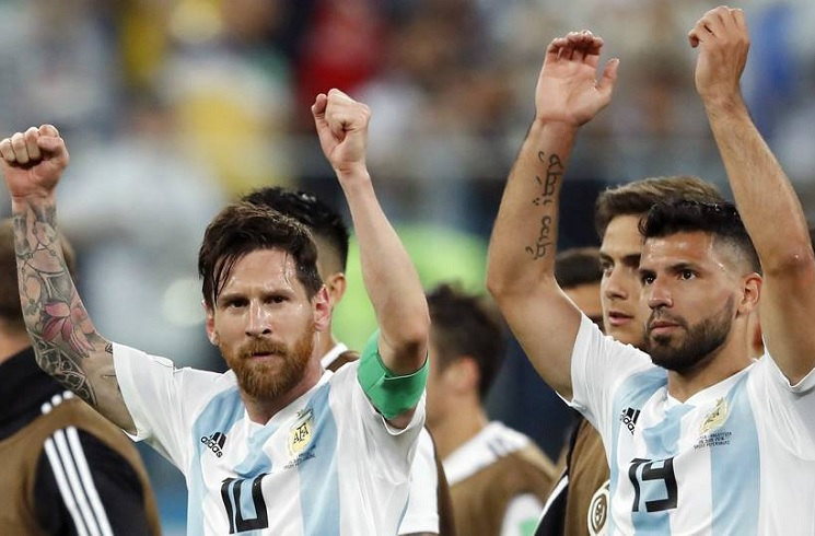 Emotional Di Maria earns three points for Argentina