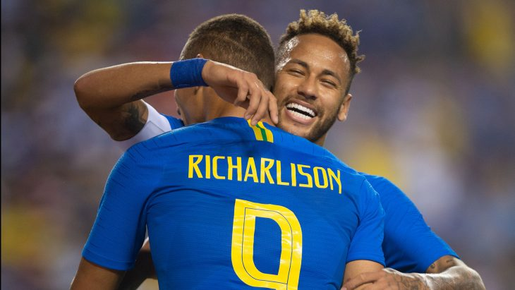 Brazil overcompensated, destroys Haiti 7-1