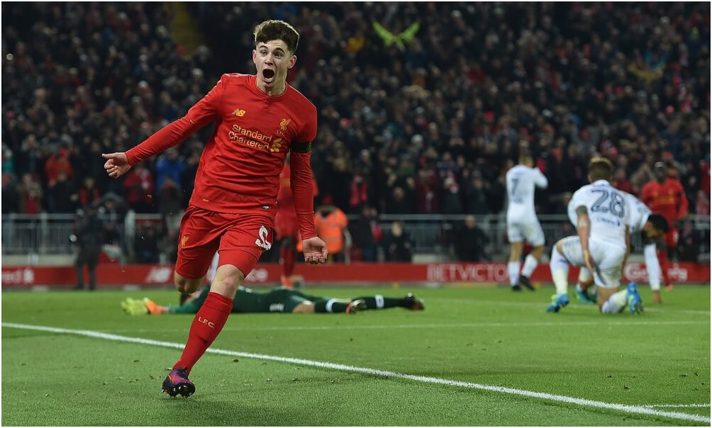 Liverpool into EFL Cup semi-finals after victory over Leeds
