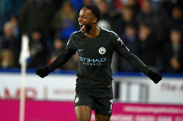 Late goal by Raheem Sterling completes City rally at Huddersfield