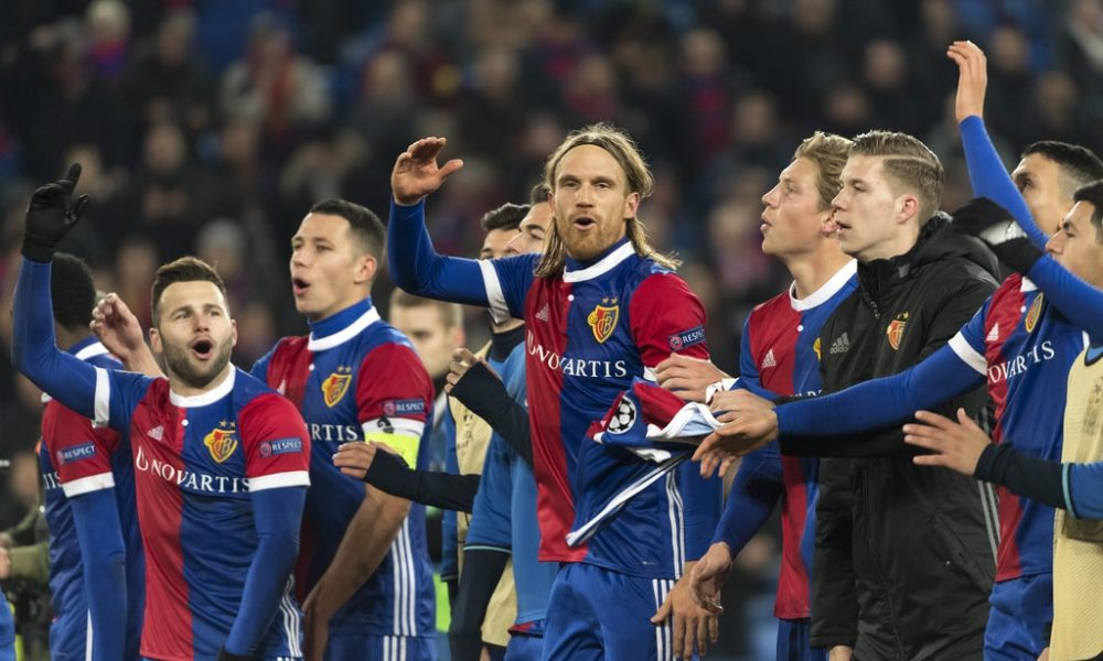 Late Basel goal denies Manchester United 100% record