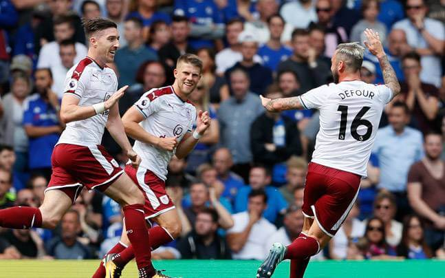 Premier League Champions Chelsea loses opening day game to Burnley