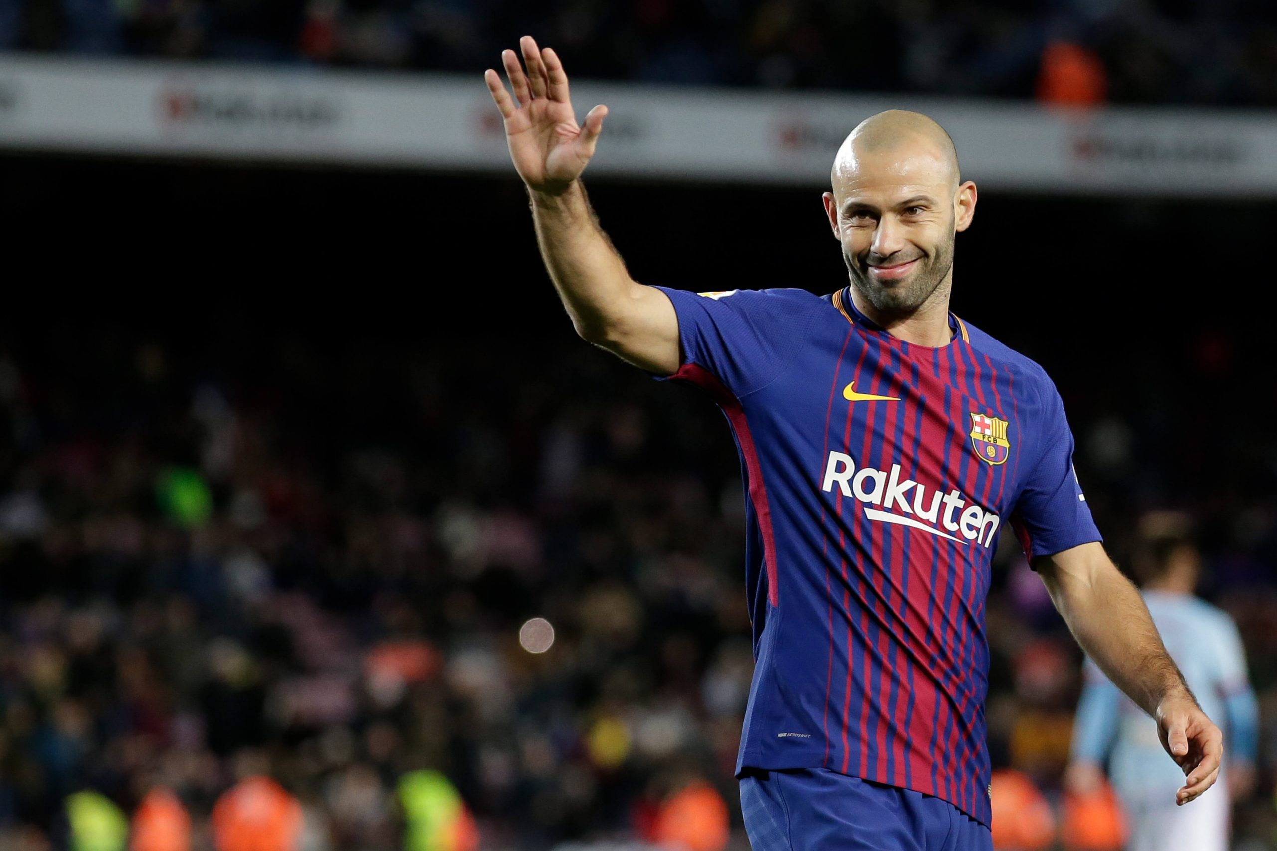 FC Barcelona confirms Javier Mascherano departure from the club