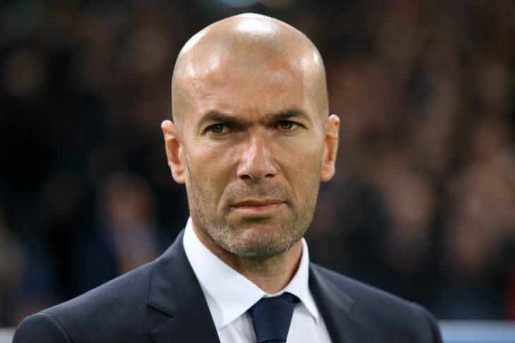 Zidane: Real are not favourites in Champions League final