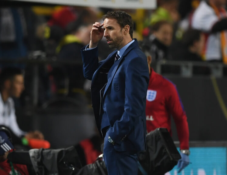 Gareth Southgate: England the better side against Germany
