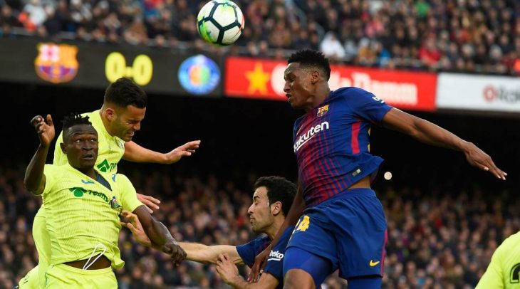 Barca held to goalless draw at home by Getafe