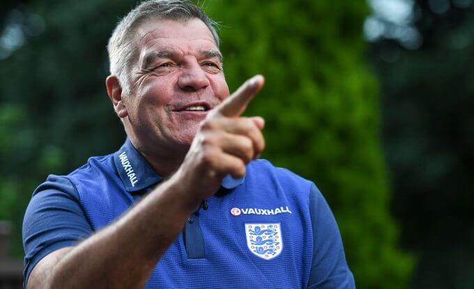 Sam Allardyce will debut as England coach against Croatia