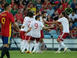 Reigning European champions Spain shocked by Georgia