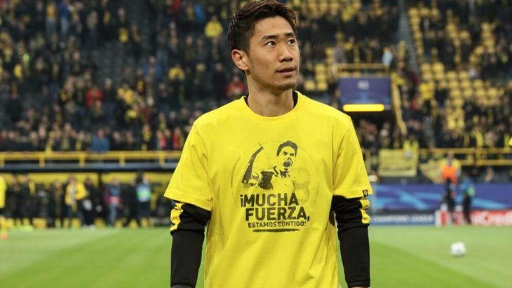 Dortmund's Shinji Kagawa still haunted by bomb attack on bus