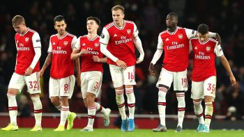 Europa League: Arsenal half-time rally earns opening day win