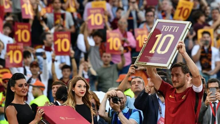Roma secures Champions League spot in Totti farewell